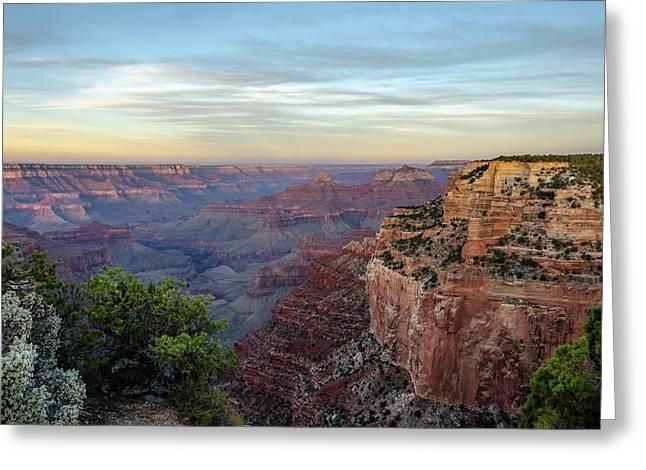 Down Canyon Greeting Card