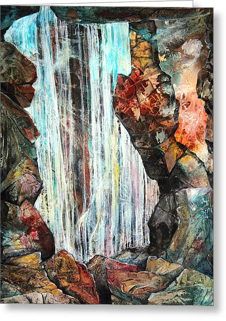 Down In The Underground I Greeting Card by Patricia Allingham Carlson