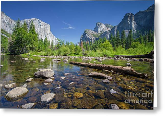 Down In The Valley Greeting Card by JR Photography