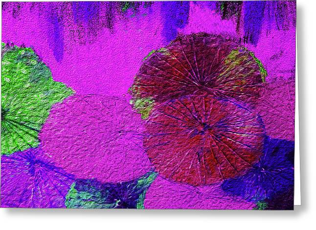 Downpour 4 Greeting Card by Bruce Iorio
