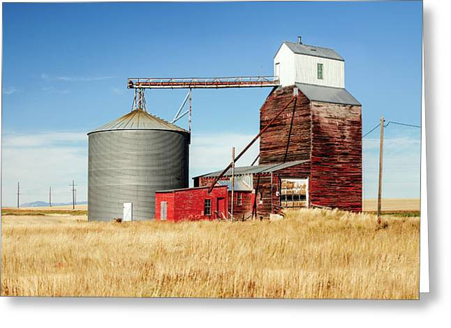 Downtown Benchland Greeting Card