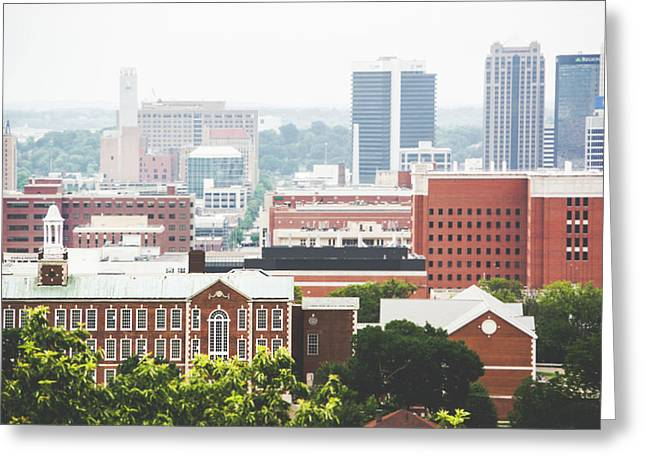 Greeting Card featuring the photograph Downtown Birmingham - The Magic City by Shelby Young