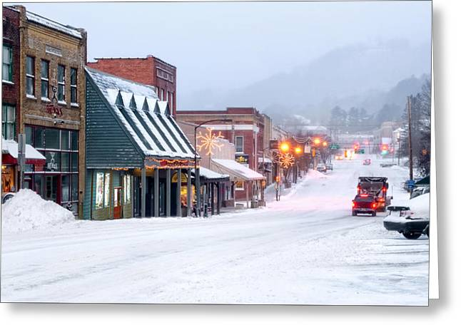 Downtown Boone Greeting Card