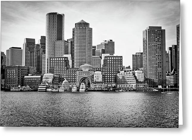 Downtown Boston Greeting Card