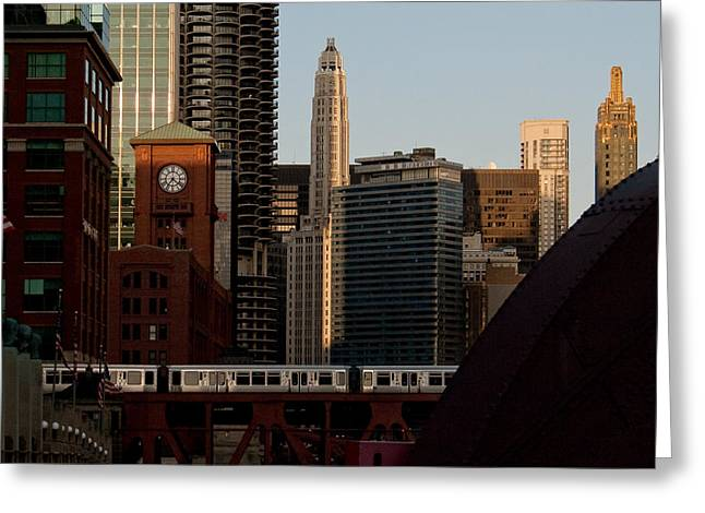 Downtown Chicago Greeting Card