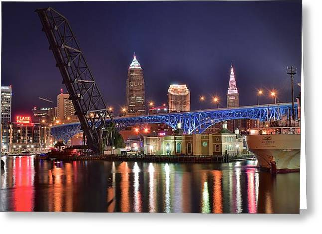 Downtown Cleveland Greeting Card