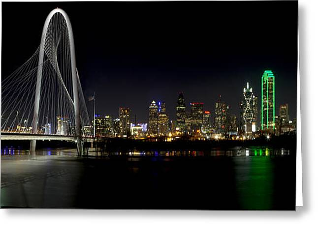 Downtown Dallas, Texas Greeting Card by Anthony Totah