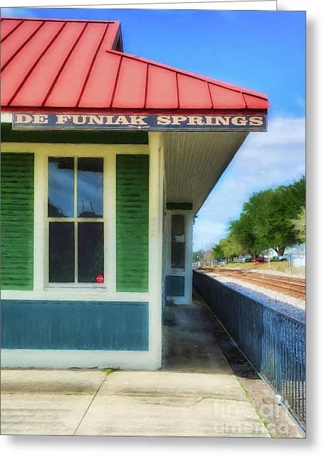 Downtown De Funiak Springs # 3 Greeting Card by Mel Steinhauer