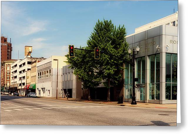 Downtown Huntington West Virginia Greeting Card by L O C