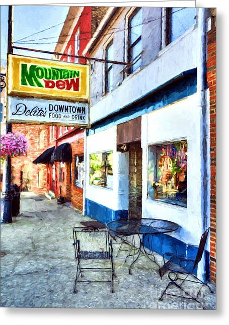 Downtown Maysville Kentucky # 3 Greeting Card