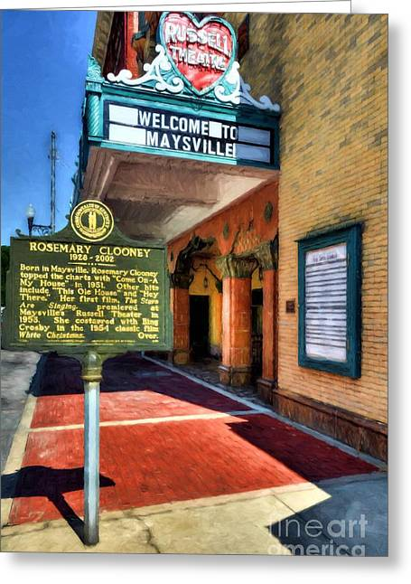 Downtown Maysville Kentucky Greeting Card by Mel Steinhauer
