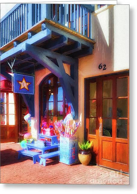 Downtown Rosemary Beach # 6 Greeting Card by Mel Steinhauer