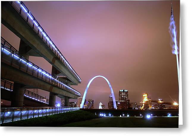 Downtown St. Louis From The East Side Greeting Card