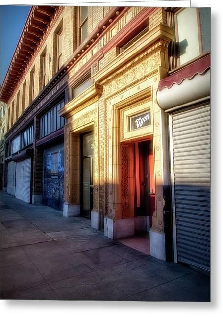 Downtown Stockton Greeting Card