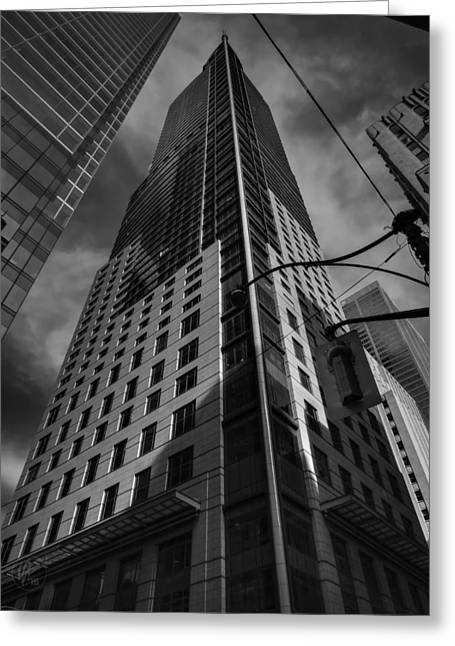 Downtown Toronto 006 Greeting Card by Lance Vaughn