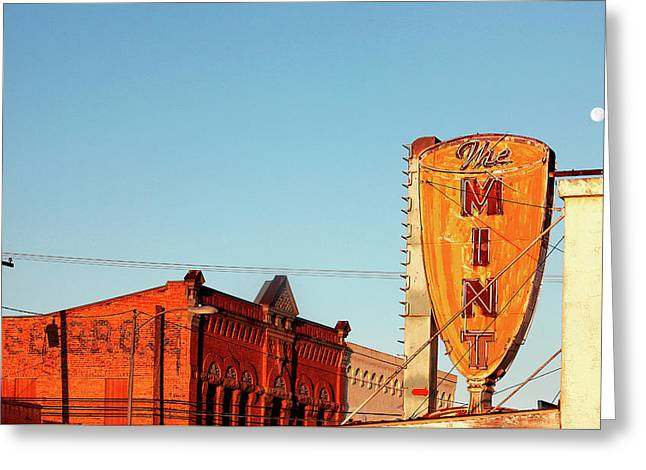 Downtown White Sulphur Springs Greeting Card by Todd Klassy