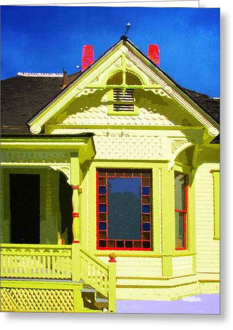 Dr. Clark's House 2 Greeting Card by Timothy Bulone