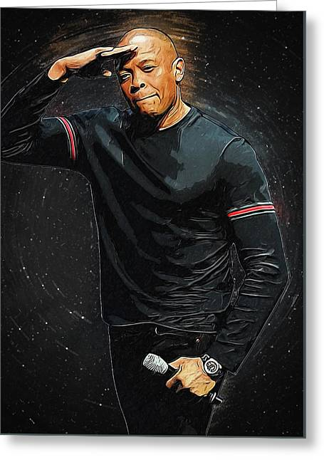 Dr. Dre Greeting Card