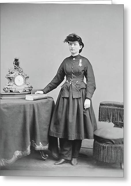 Dr. Mary Walker Greeting Card