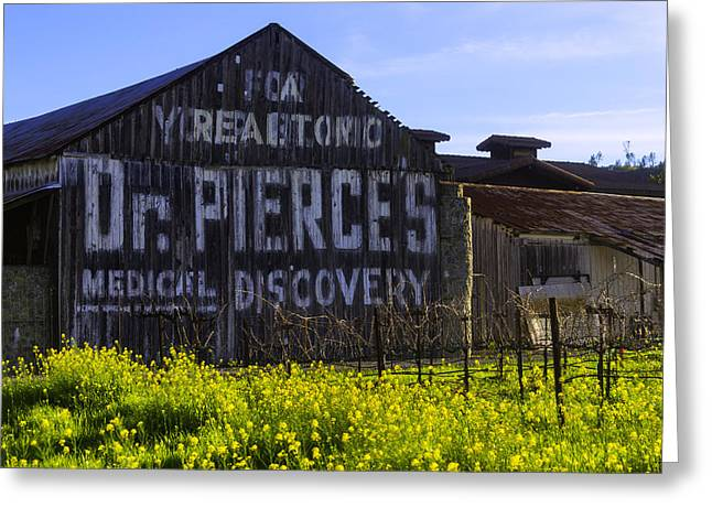 Dr Pierces Barn Greeting Card
