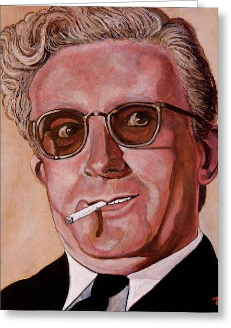 Dr Strangelove 2 Greeting Card by Tom Roderick