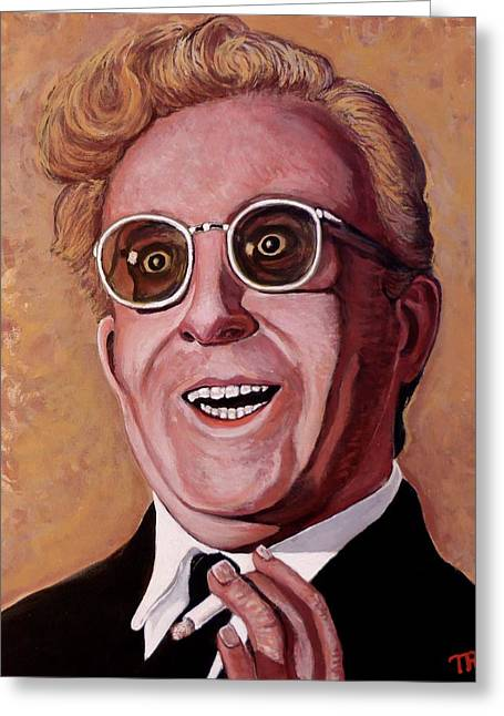 Dr. Strangelove 3 Greeting Card by Tom Roderick