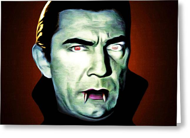 Dracula 20170414 Square Greeting Card by Wingsdomain Art and Photography