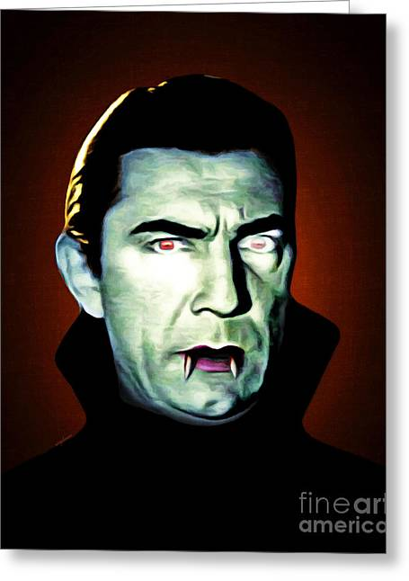 Dracula 20170414 Greeting Card by Wingsdomain Art and Photography