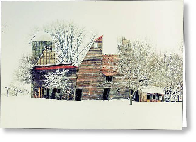 Drafty Old Barn Greeting Card