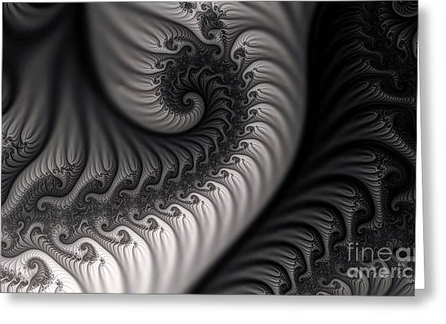 Dragon Belly Greeting Card by Clayton Bruster