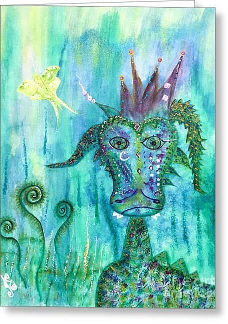 Dragon Prince Greeting Card