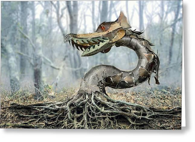 Dragon Root Greeting Card