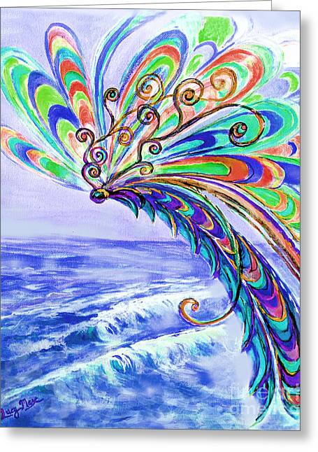 Dragonfly Greeting Card by Lucy Max