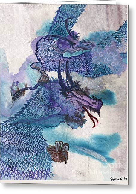 Dragons Greeting Card