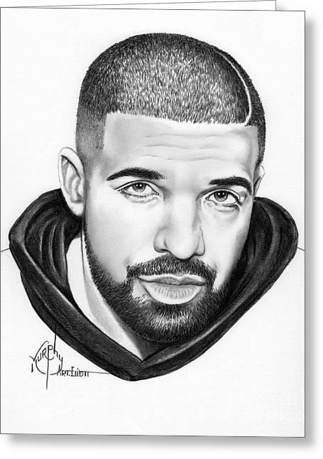 Drake Greeting Card by Murphy Elliott