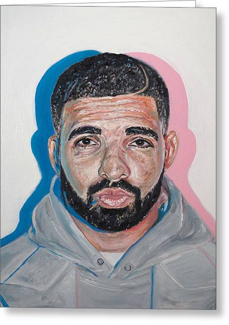 Drake Greeting Card by Steph Maiden