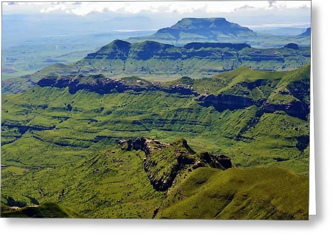 Drakensberg Mountains Greeting Card