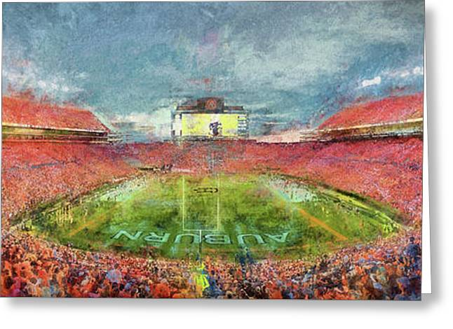 Drama On The Plains Greeting Card by JC Findley