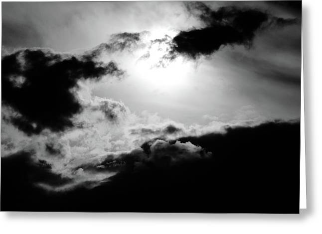Dramatic Clouds Greeting Card