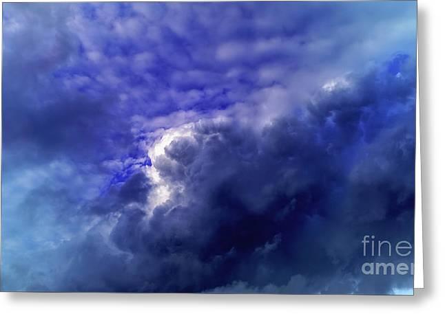 Dramatic Cumulus Sky Greeting Card