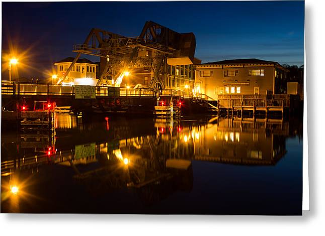 Drawbridge Illuminated  Greeting Card