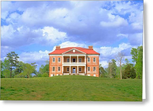 Drayton Hall, Historic Plantation Greeting Card by Panoramic Images