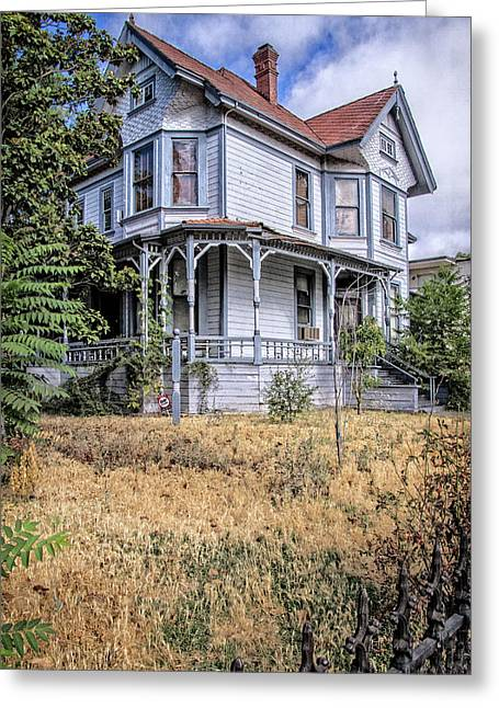 Dr. Cross House Greeting Card by Terry Davis