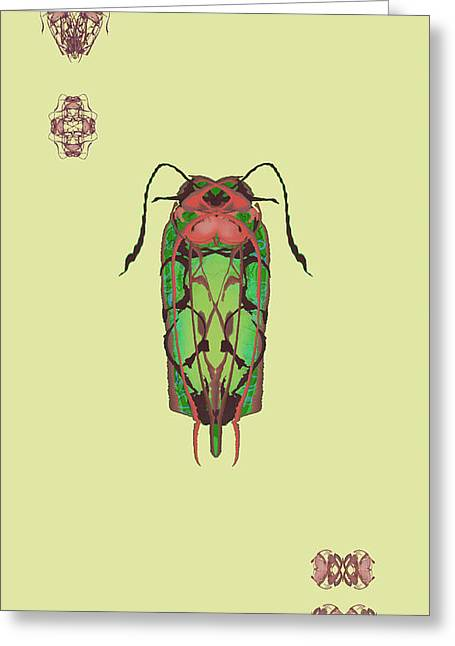 Dread Bug Specimen Greeting Card