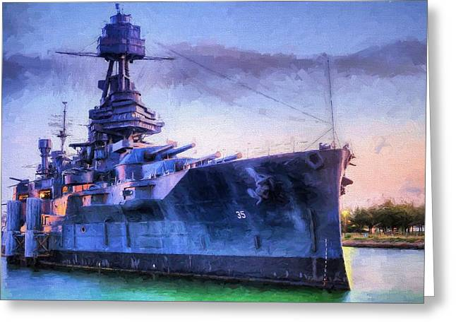 Dreadnought Greeting Card by JC Findley