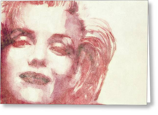 Dream A Little Dream Of Me Greeting Card by Paul Lovering