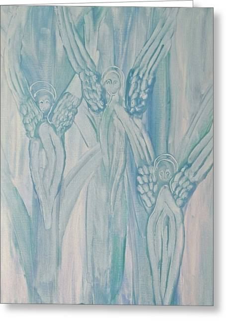 Dream Angels Greeting Card by Michele Myers