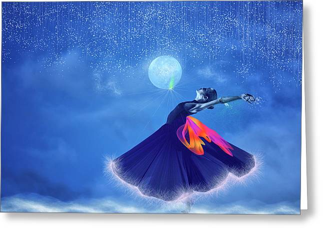 Dream Dancing Greeting Card
