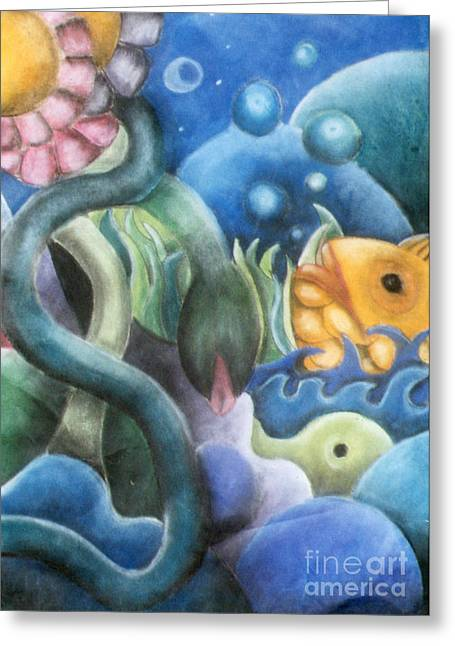 Dream Fish Greeting Card