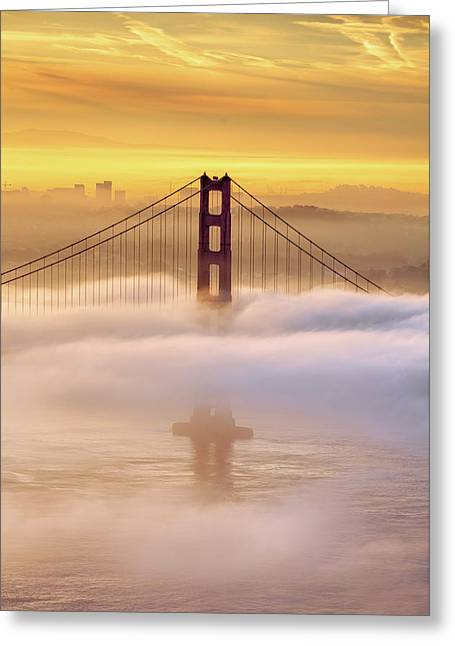 Dream Gate Greeting Card by Vincent James